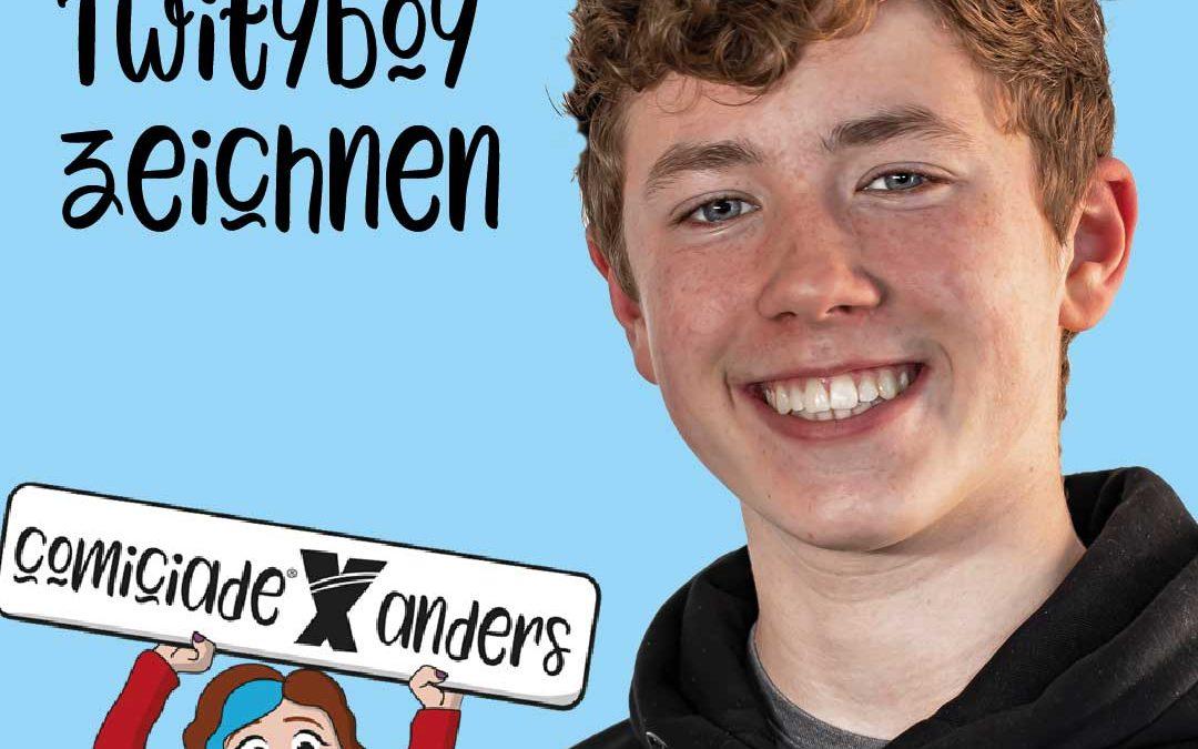 Twityboy Comicfiguren zeichnen